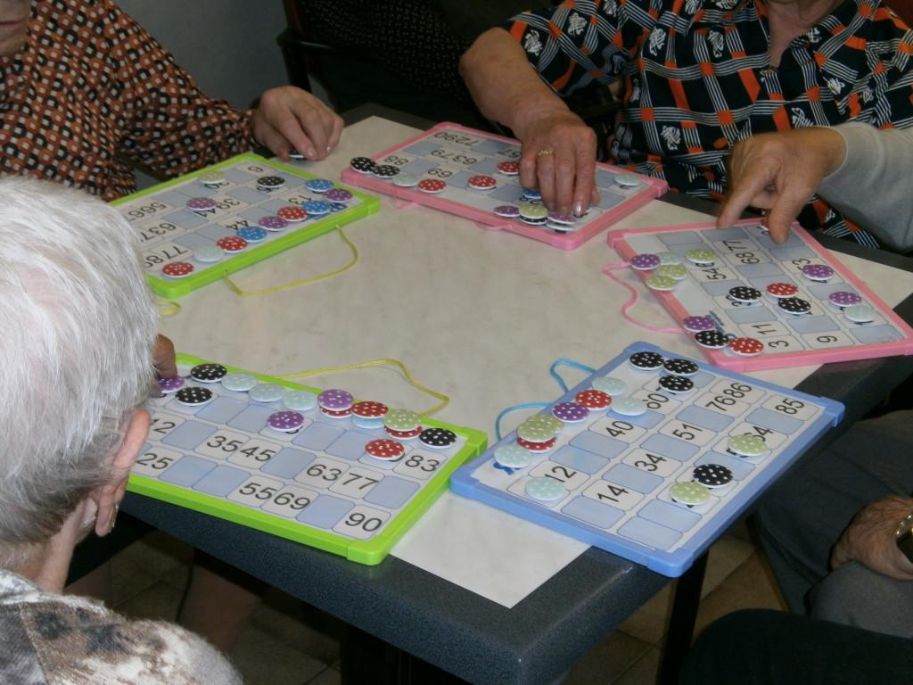 Bingo para ancianos