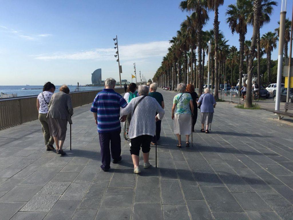 Excursiones ancianos Barcelona