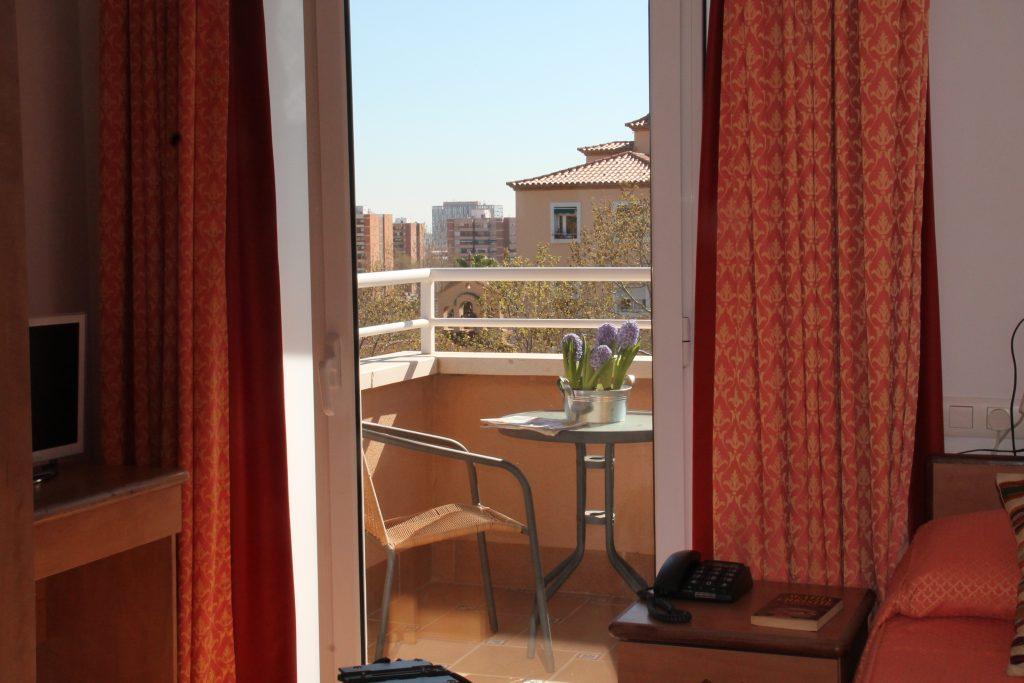 Habitaciones individuales Residencia Barcelona